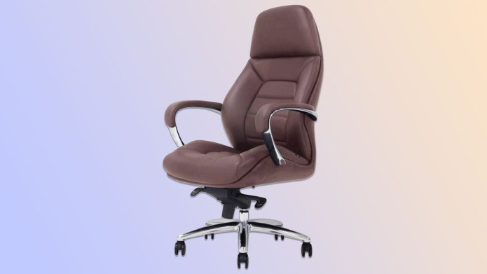 Best Office Chairs: Gates Genuine Leather Executive Chair