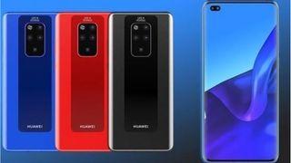 Huawei Mate 30 Pro render leak