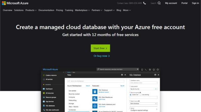 Microsoft Azure SQL Database