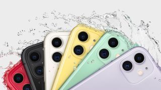 The iPhone 11 in its many colors