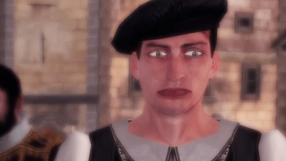 FIXED A Weird NPC Face This Assassins Creed The