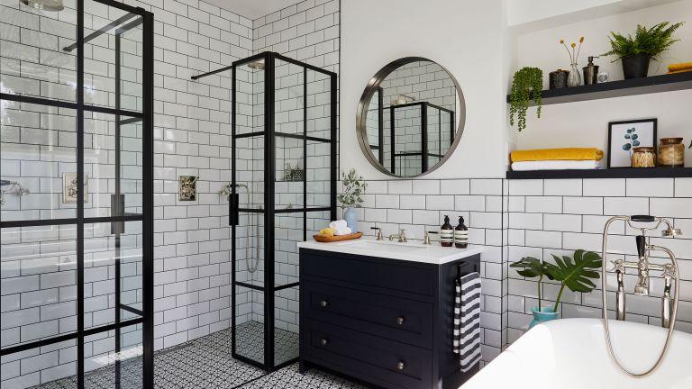 choose tiles for a small bathroom