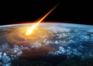 a meteor enters earth atmosphere