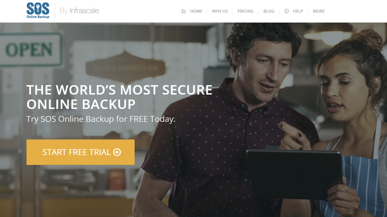 SOS Online Backup for Business