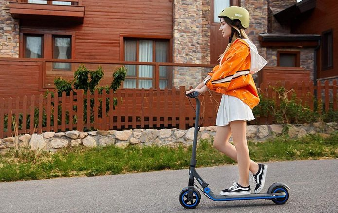 best electric scooters for kids: Segway Ninebot eKickscooter Zing
