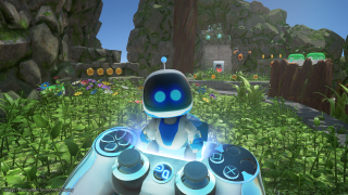 Astro Bot Rescue Mission on PSVR. (Image credit: Sony)
