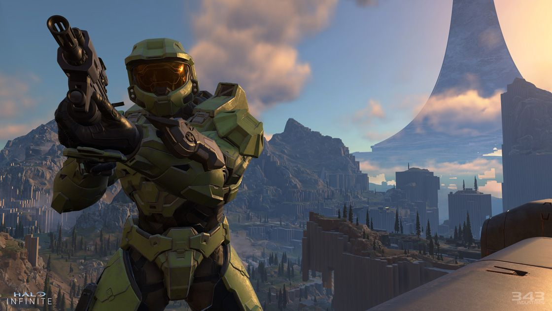 Halo Infinite officially revealed the first gameplay footage