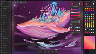 Drawing apps for iPad: Affinity Designer