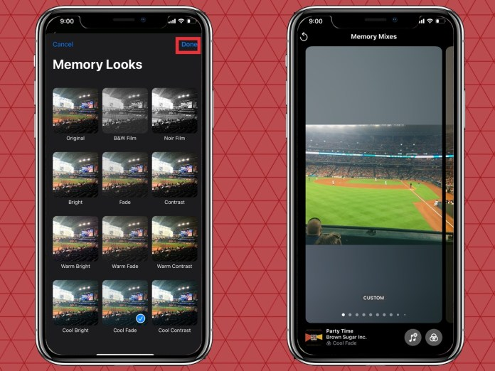 How to Finish Editing Your Memory in iOS 15 Photos
