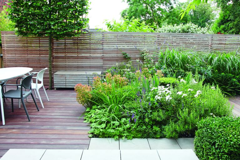 patio planting ideas country