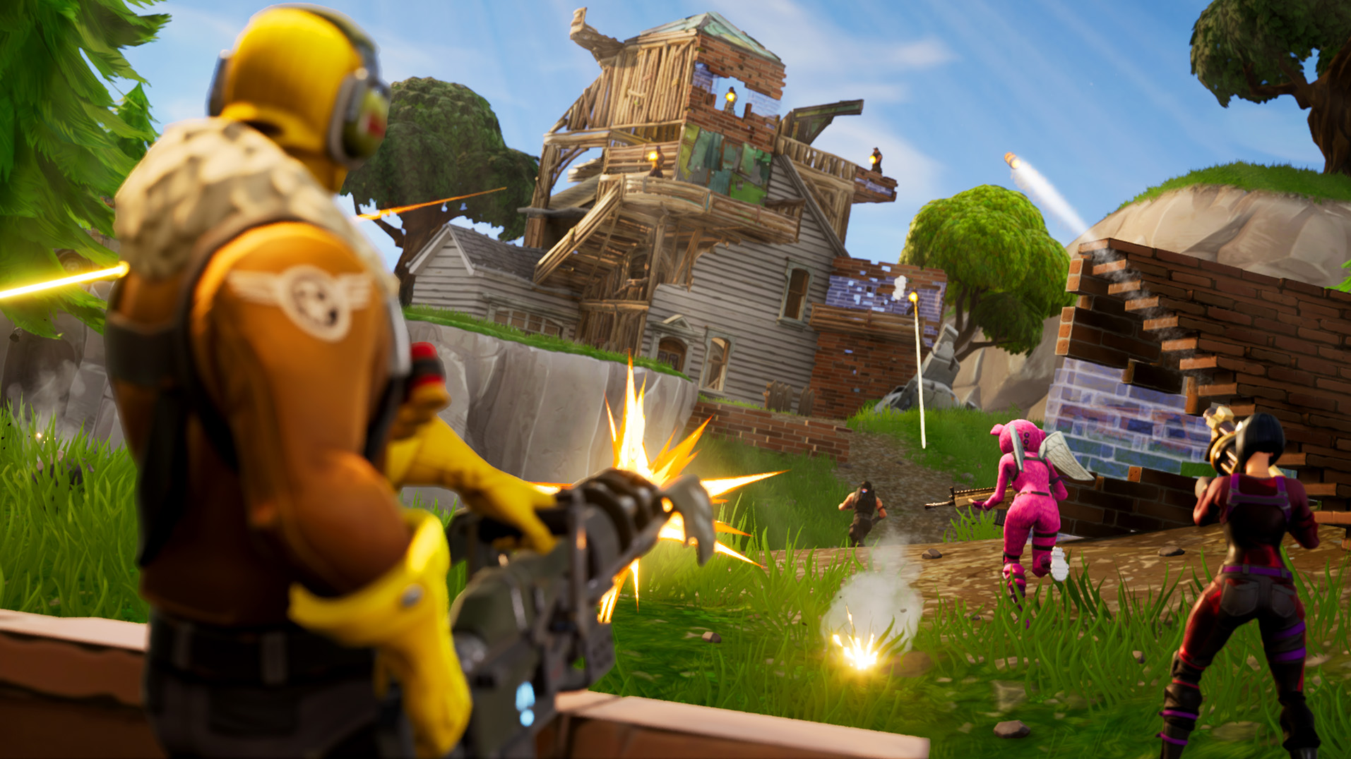 Fortnite Battle Royale is actually a game mode for the Fortnite game.