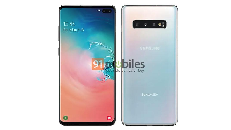 Samsung Galaxy S10 Plus leak