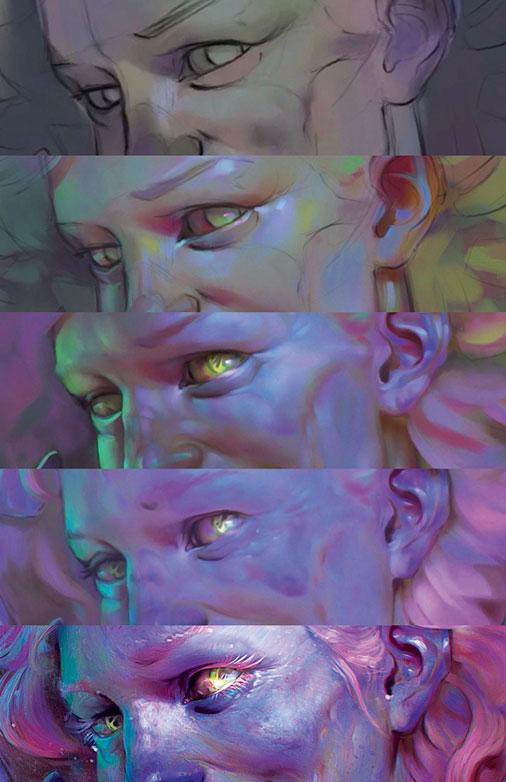 kYoyfSqD8i4Ls4D2WZ2WzH How to paint a colourful zombie Random