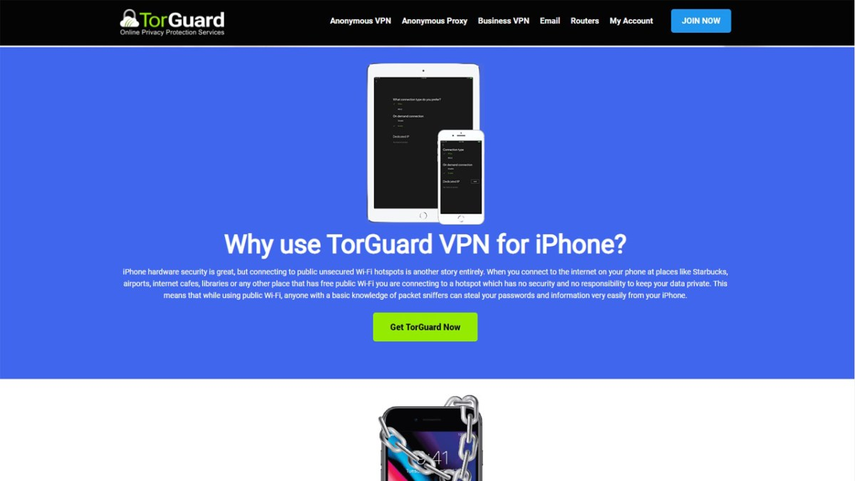 TorGuard review - mobile apps