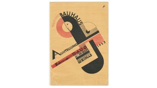 Joost Schmidt's Bauhaus poster