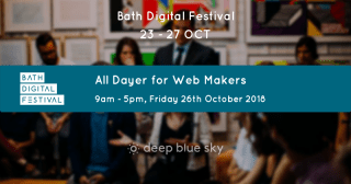 All dayer for web makers flyer