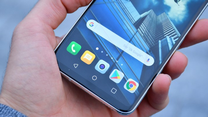 LG V30, just one of the many low-bezel look phones