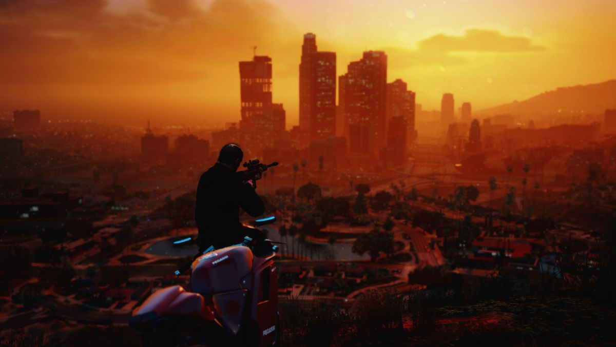 GTA 5 Redux Graphics Mod Out Now PC Gamer