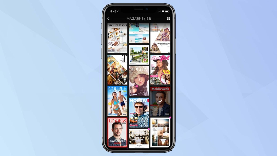 best photo collage apps: Moldiv