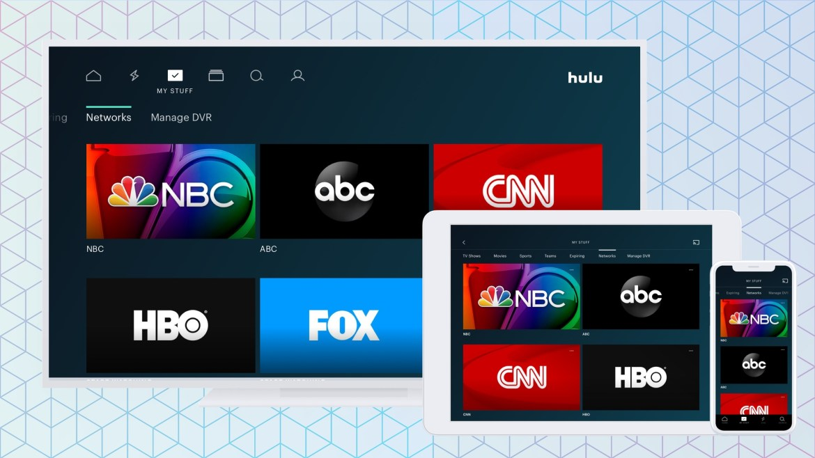 Hulu Live vs YouTube TV vs Sling vs AT&T TV - broadcast channels