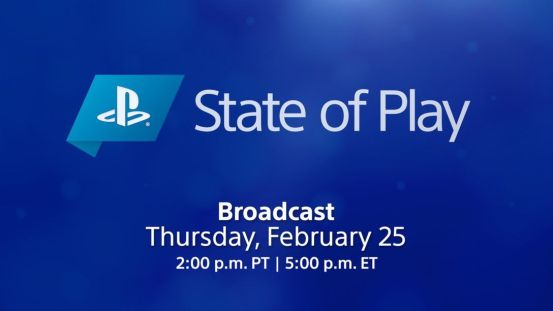 The next PS5 State of Play exhibition takes place on February 25th