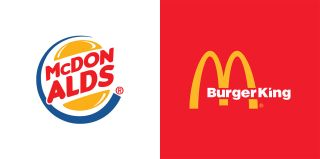 Fast food logo mashups: McDonald's vs Burger King