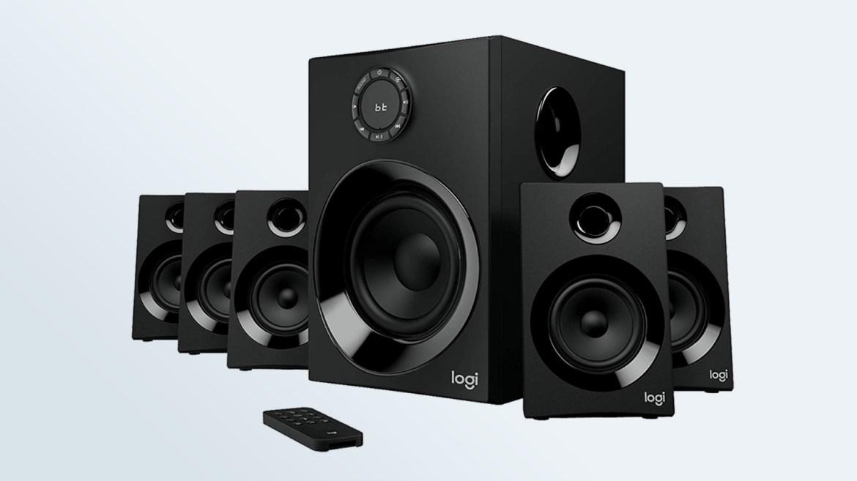 Best computer speakers: Logitech Z606