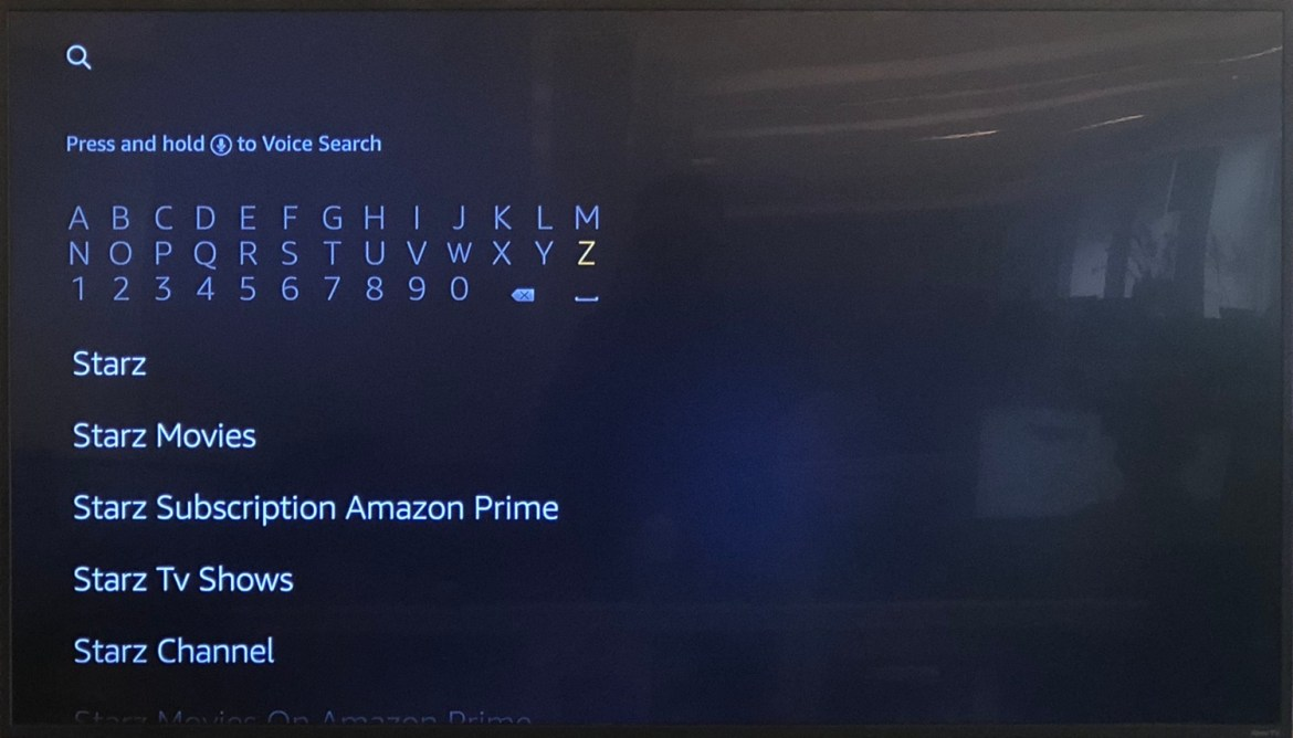 how to use fire stick - search for apps