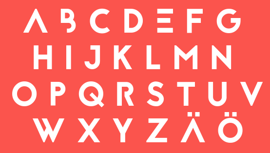 Free fonts Reckoner