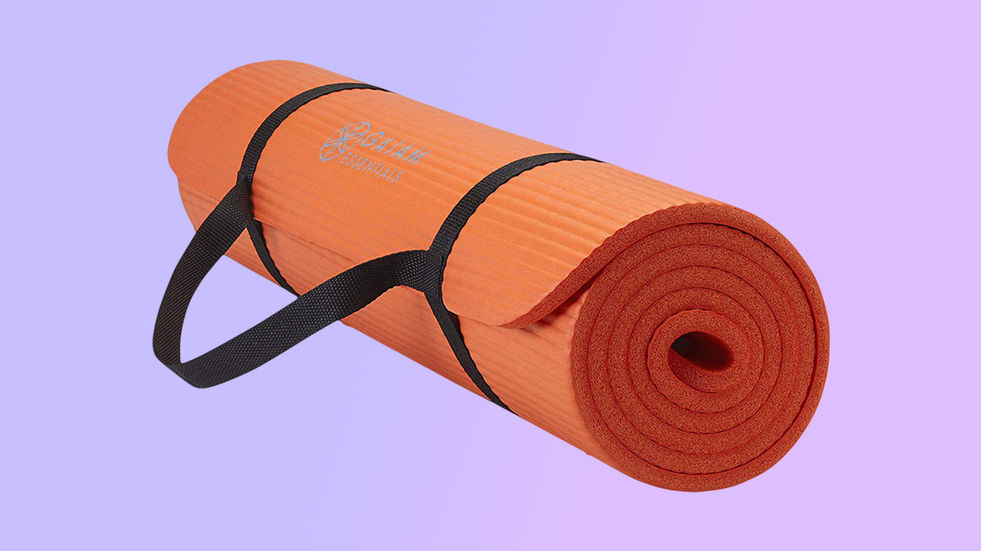 Best home gym equipment: Gaiam Essentials Thick Yoga Mat Fitness & Exercise Mat