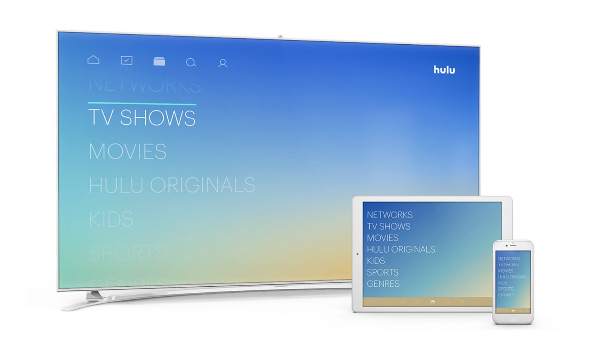 Hulu with Live TV review: sections — Credit: Hulu