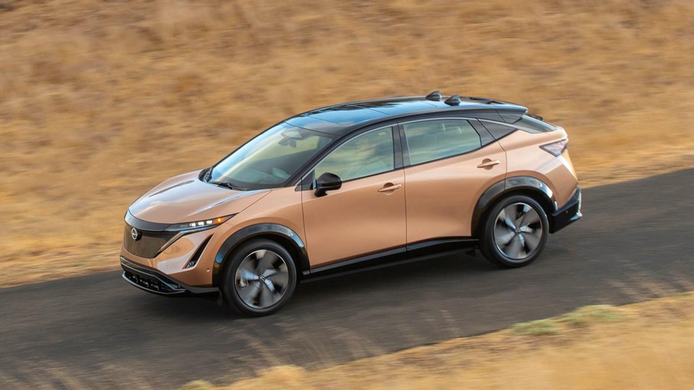 Nissan Ariya electric SUV — performance