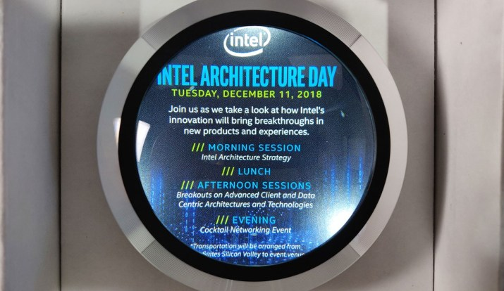 Intel Architecture Day 2018