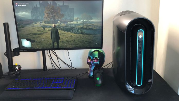 Alienware Aurora Ryzen Edition gaming PC review New Gaming PC Consumes so Much Power   Alert Sign