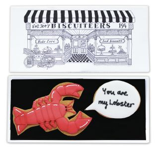 Biscuiteers You are my lobster biscuit