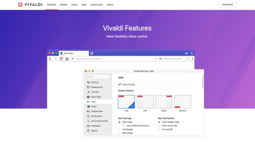 Browser - Vivaldi