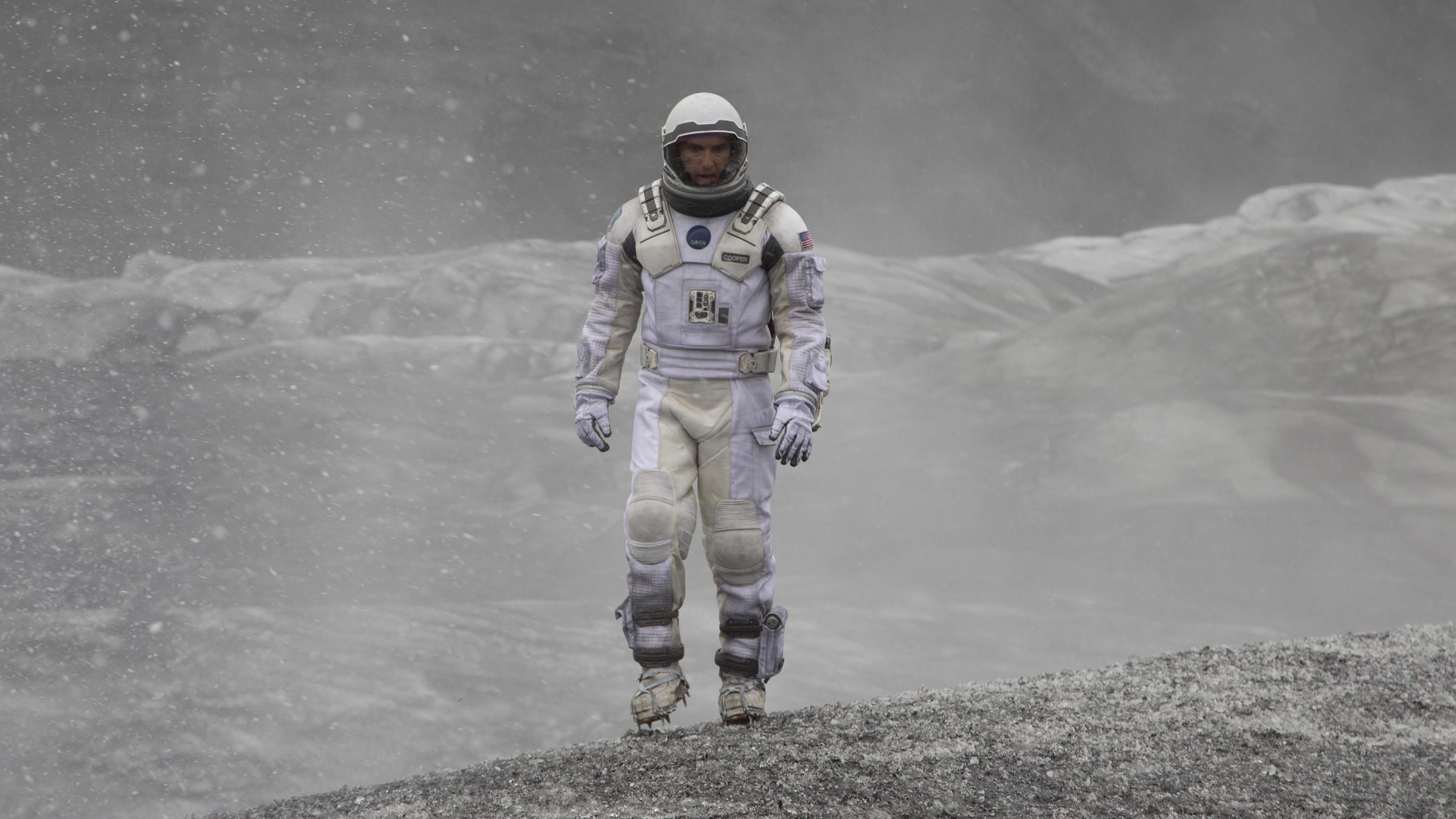 A still from the movie Interstellar
