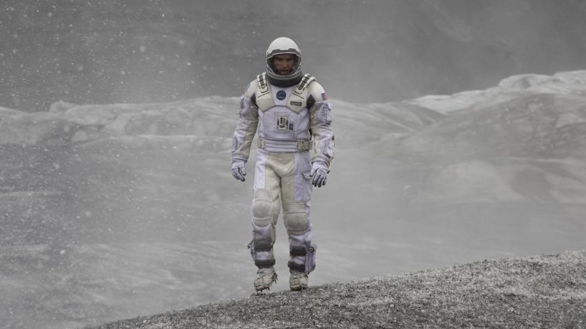 A still from the film Interstellar