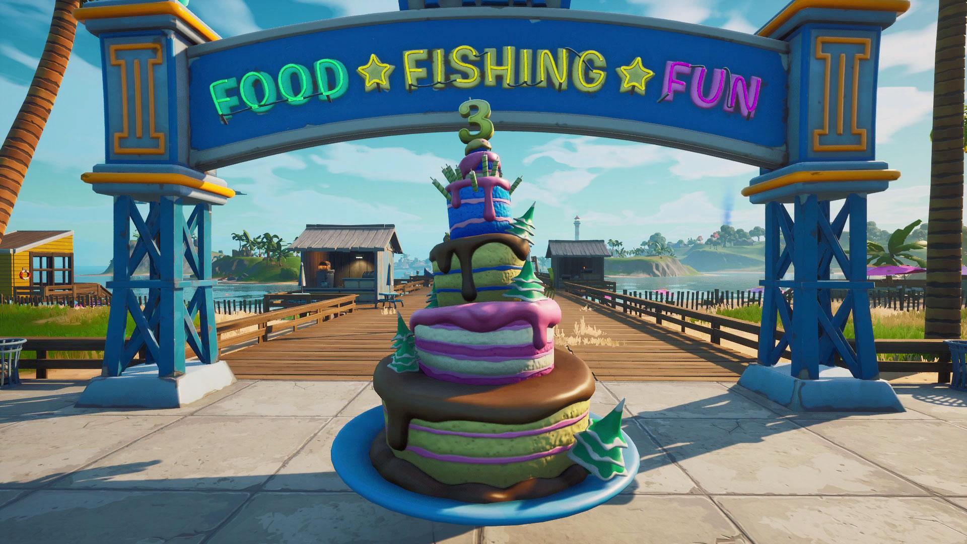 Fortnite Birthday Challenges Rewards Birthday Cake Locations And More Gamesradar