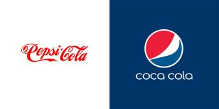 Fast food logo mashups: Pepsi vs Coke