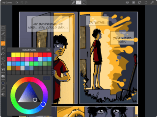 Drawing apps for iPad: Comic Draw painting and drawing app