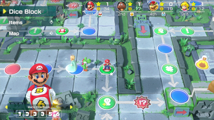 Super Mario Party Nintendo Switch party game