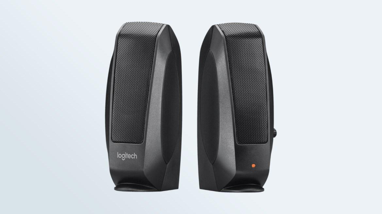 Best computer speakers: Logitech S120 2.0