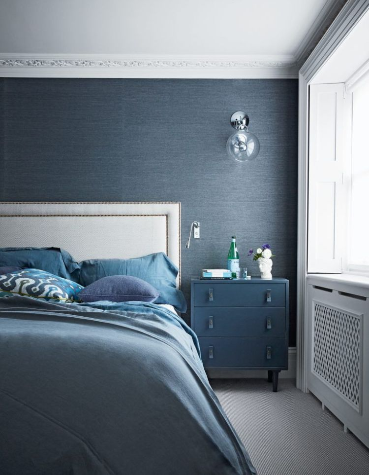 Navy Blue Walls The Best Shades Of Navy Blue And Where To Use Them Livingetc