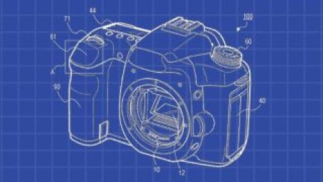 Canon to replace shutter button with touchpad?
