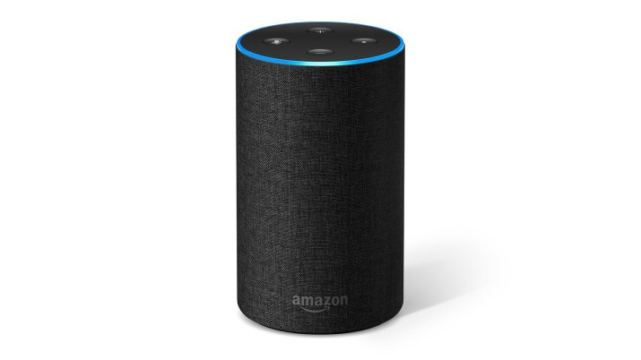 A photo of the Amazon Echo