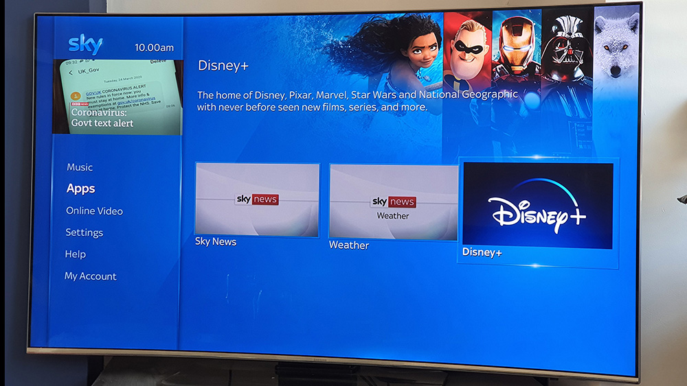 Here S How To Watch Disney Plus On Sky Q And Get The Best Experience What Hi Fi
