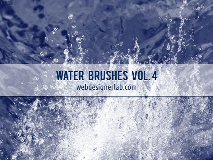 Water Photoshop brushes