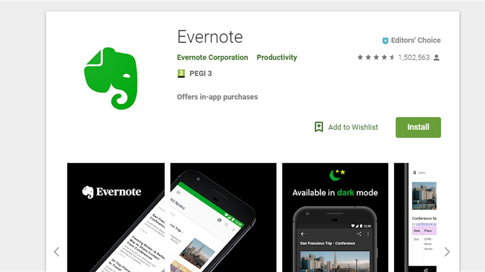 Evernote - Many regard this as a must-have productivity app