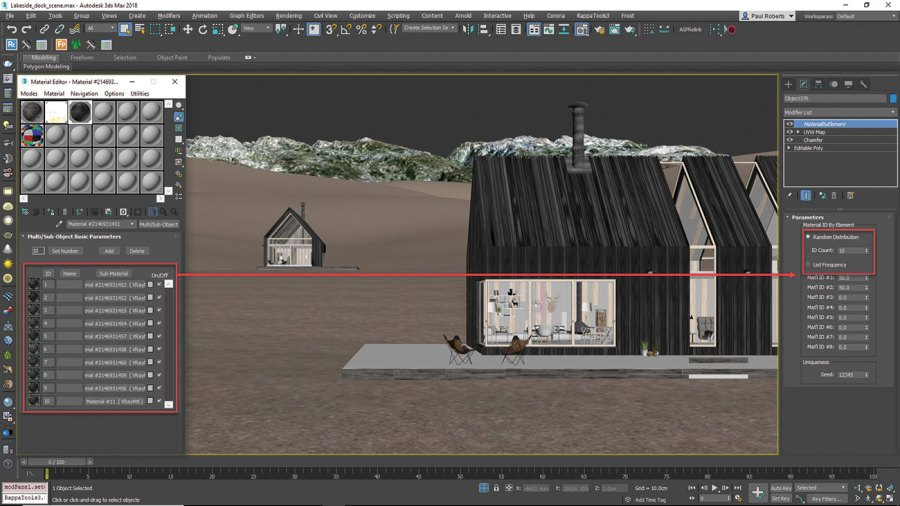 3ds Max - add buildings